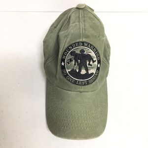 Other - Wounded Warrior No One Left Behind Green Cap Hat